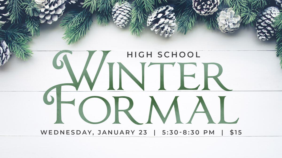 High School Winter Formal